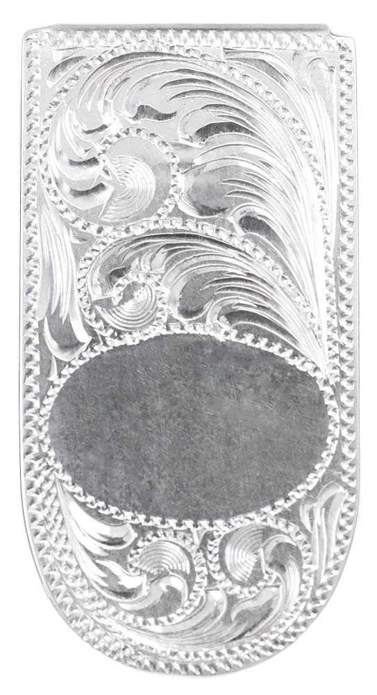 1006 - ENGRAVED MONEY CLIP