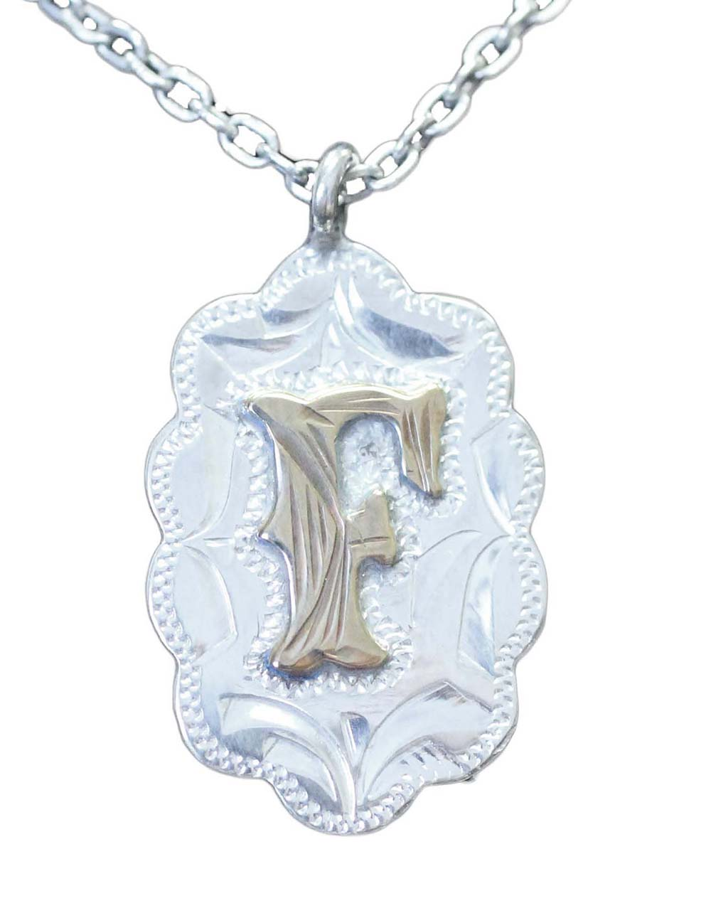 1001 INITIAL NECKLACE