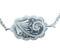 1002 ENGRAVED NECKLACE