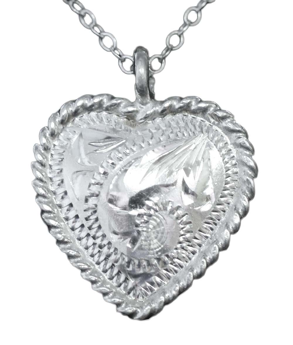 1030 HEART CONCHO NECKLACE