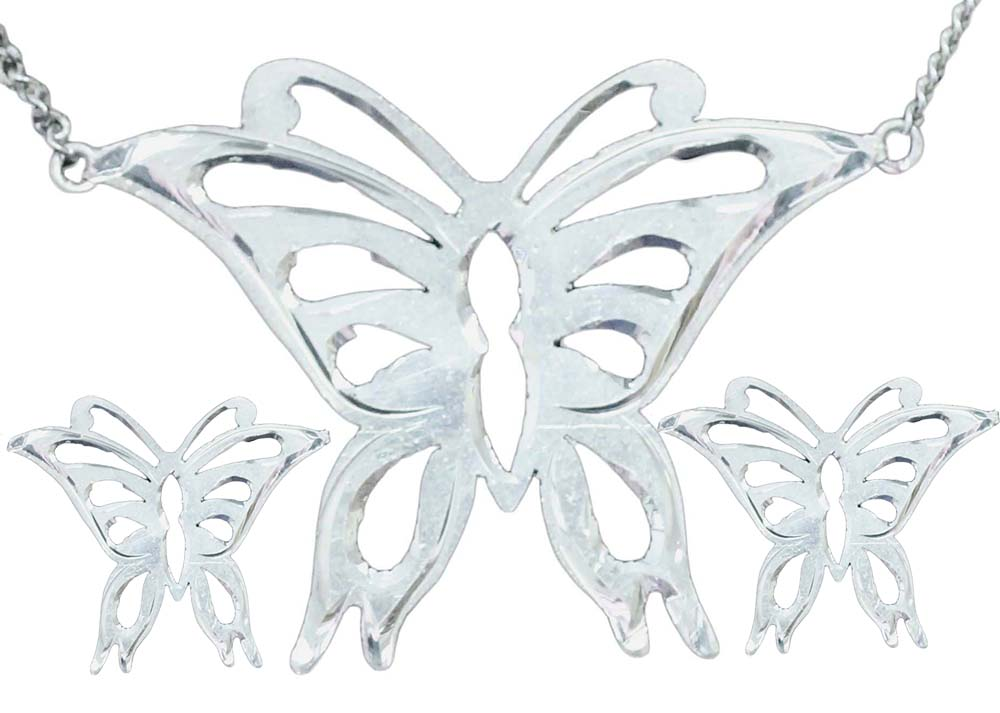 1012 - FILIGREE BUTTERFLY SET