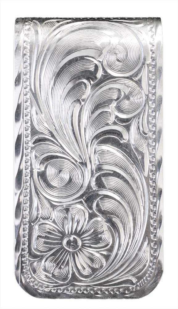 1005 - FULLY ENGRAVED MONEY CLIP