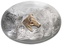 1050 LARGE OVAL TROPHY BUCKLE