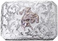1057 REPOUSSE' WESTERN BUCKLE