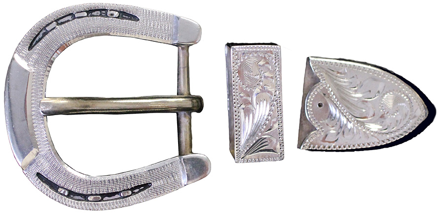 1001 - 3PC HORSESHOE BUCKLE
