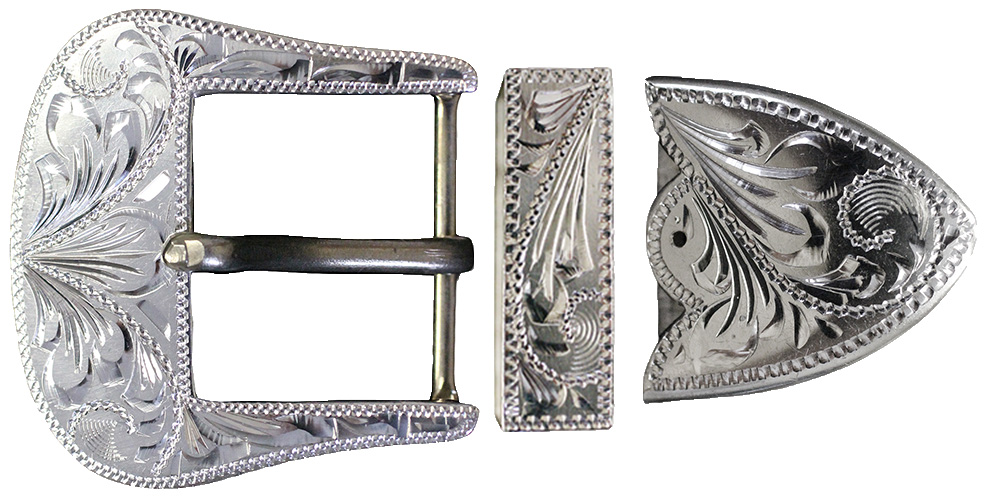1005 3PC STERLING SILVER BUCKLE